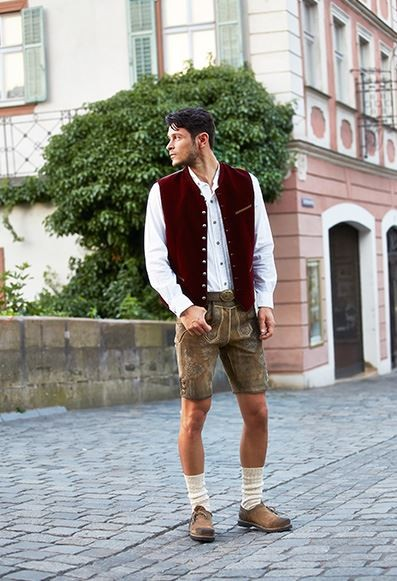 kurze trachtenlederhose herren ammersee ziller antik urig und speckig mit g rtel neu lederhosen. Black Bedroom Furniture Sets. Home Design Ideas